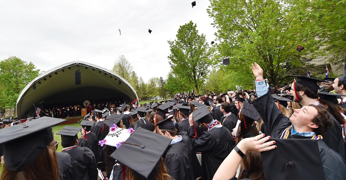 Endowing Our Future - Student Scholarship - Augsbury Story Commencement